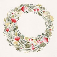 Joy Wreath Fine Art Print