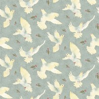 Bird Pattern 2 Fine Art Print