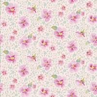 Pink Blossoms Pattern Fine Art Print