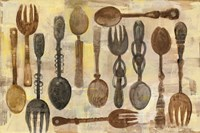 Spoons and Forks Fine Art Print