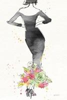 Floral Fashion I v2 Framed Print