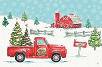 Christmas in the Country I Fine Art Print