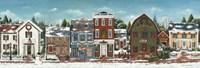 Christmas Village Crop Fine Art Print