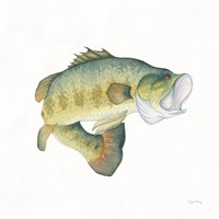 Gone Fishin Large Mouth Fine Art Print