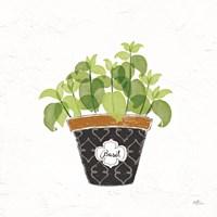 Fine Herbs VIII Framed Print