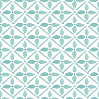 Garden Getaway Pattern XIIA Framed Print