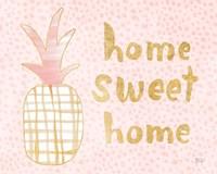 Pineapple Blush I Fine Art Print