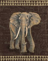 Grand Elephant Traveller Fine Art Print
