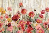 Sprinkled Flowers Crop Fine Art Print