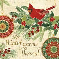 Winter Feathers VI Fine Art Print