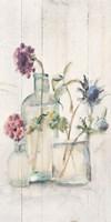 Blossoms on Birch II Panel Fine Art Print