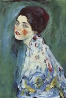 Portrait of a Lady Fine Art Print