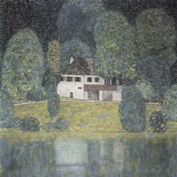 The Litzlbergkeller on the Attersee Fine Art Print