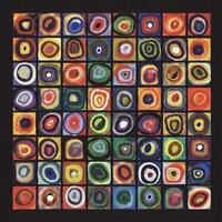 Color of Squares Fine Art Print