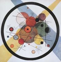Circles in Circle Fine Art Print