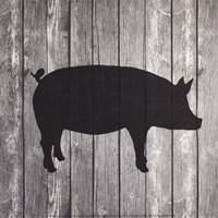 Barn Pig Fine Art Print