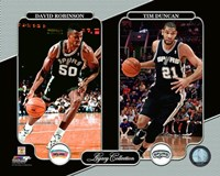 David Robinson & Tim Duncan Legacy Collection Fine Art Print
