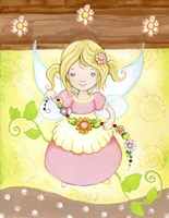 Fairy in my Garden Fine Art Print