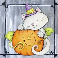 Pumpkin Hugs Fine Art Print