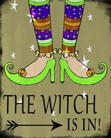 The Witch Is In Fine Art Print