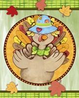 Turkey Scarecrow Fine Art Print