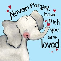 Never Forget Elephant Fine Art Print