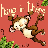 Hang In Monkey Fine Art Print