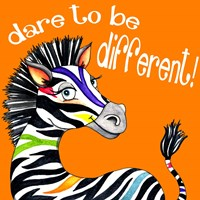 Different Zebra Fine Art Print