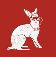 Wabbit Red Fine Art Print