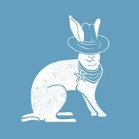 Wabbit Blue Fine Art Print