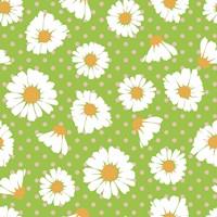 Retro Spring Daisies Fine Art Print