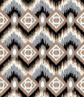 Holiday Ikat Fine Art Print