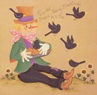 Four and Twenty Blackbirds Fine Art Print