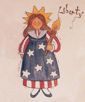Liberty Lady Fine Art Print