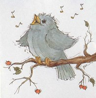 Singing Bird Fine Art Print