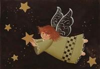 Angel & Stars Fine Art Print