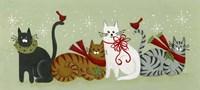 Christmas Cats Fine Art Print