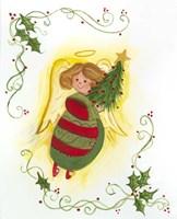 Angel with Tree Fine Art Print