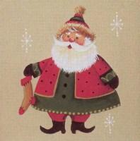 Santa 3 Fine Art Print
