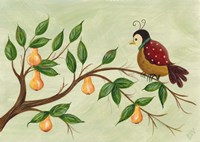 Partridge In A Pear Tree Fine Art Print