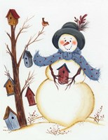 Snowy Friend Fine Art Print
