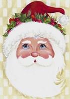 Traditional Santa Fine Art Print