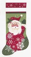 Santa Stocking Fine Art Print