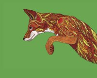 Fox Pounce Fine Art Print