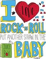 I love Rock n Roll Fine Art Print
