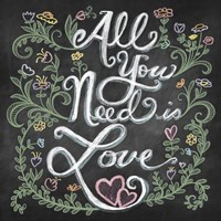 All You Needis Love Fine Art Print