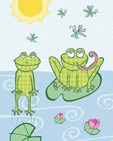 Froggies Fine Art Print