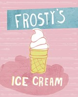 Frosty's Ice Cream Fine Art Print