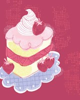 Strawberry Short Cake Fine Art Print