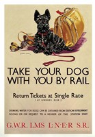 Take Your Dog Fine Art Print